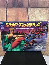 Street Fighter II Board Game Milton Bradley 1994 Vintage Capcom 99% Complete
