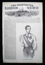 EMPEROR FRANZ JOSEPH I OF AUSTRIA VICTORIAN PRINT / ARTICLE 1848