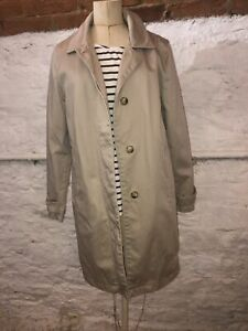 Gap Fully Lined Trench Coat. Size M. Sand. Ladies