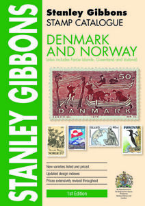 Denmark & Norway Stamp Catalogue- Stanley Gibbons 1st Edition - 480 pages - SAVE