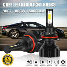 9007 HB5 CREE LED Headlight Conversion Kit Bulbs 1000W 150000LM Lamp Hi/Lo 6000K