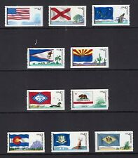 US 2008 NH 4273-82 FLAGS of OUR NATION Part 1 I - SINGLES - Free USA Shipping
