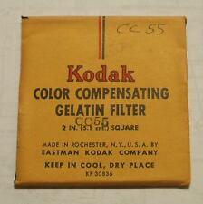 "KODAK Color Compensating FILTER NO. CC55 2"" or 50mm Square"