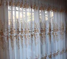 ma gefertigt nach ma gardinen vorh nge f r blumenmuster und flur diele g nstig kaufen ebay. Black Bedroom Furniture Sets. Home Design Ideas
