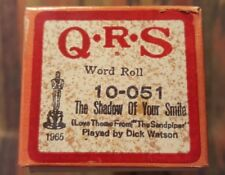 The Shadow of Your Smile - Q.R.S Player Piano Word Roll - 10-051