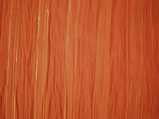 RUST WITH GOLD METALLIC  GAUZE FABRIC  BTY