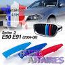 3 Clip bandes Grille Calandre BMW M Motorsport Performance E90 E91 320I 325I