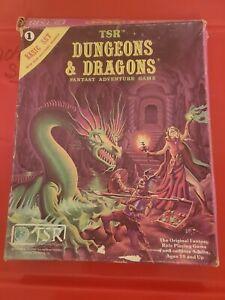 TSR Dungeons & Dragons Original 1980 Basic Set With 2 Extra Modules B2 & B4