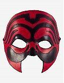 Venezianische Masken Māori Ledermaske - In Venedig Handgemacht!