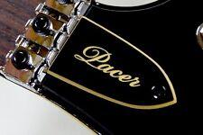 TRUSS ROD COVER name plate for KRAMER FLOYD ROSE guitar White /& Black
