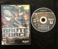Brute Force — Cleaned/Tested! Fast Free Shipping! (Microsoft Xbox, 2003)