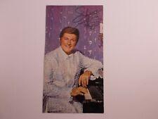 X Liberace Show-Las Vegas Hilton 19772 Postcard - jumbo