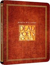 Dead Poets Society Limited Edition Steelbook Bluray UK Exclusive NEW SEALED