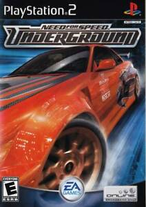 JUEGO PS2 NEED FOR SPEED UNDERGROUND PS2 6546497