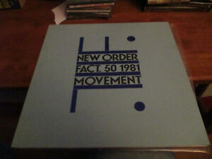 """NEW ORDER - Movement - Lp - 1st UK """"A2"""" Pressing on Factory Records - 1981"""