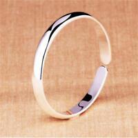 Offener Mund Armband polnischen Silber Armreif Schmuck einstellbar mode DE