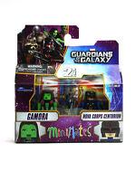 Marvel Minimates Gamora & Nova Corps Centurion Series 57 Guardians Of The Galaxy