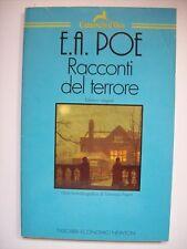 E.A. POE RACCONTI DEL TERRORE CAMOSCIO D'ORO TASCABILI NEWTON ( bb16)