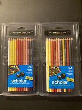 Prismacolor Scholar 92805 Premier Colored Pencils- 24 Piece