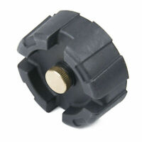 Black Gas Cap Fuel Oil Tank Cover Universal For 12L / 24L Marine Outboard Engine
