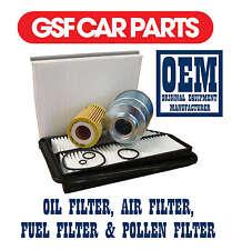 Service Kit Oil Air Fuel & Pollen Filters Replacement Honda Civic 2.2 Ctdi