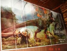 "JURASSIC WORLD : FALLEN KINGDOM 6 SIX SHEET GIANT 52"" X 106"" POSTER"