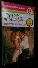 The Colour of Midnight by Robyn Donald Mills & Boon  in Australia 1863866833