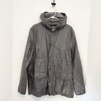 John Varvatos Coated Linen Jacket Men's Size L