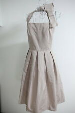 MaxMara Brush Pink Bow Cocktail Formal Dress I38/F36/GB6/US4