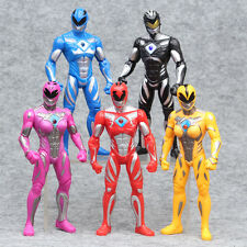 Power Rangers The Movie 2017 New 17cm Action Figures 5pc Set
