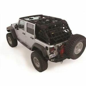 Smittybilt 561135 CRES2 HD Restraint Cargo Net; For 1997-2006 Jeep Wrangler TJ