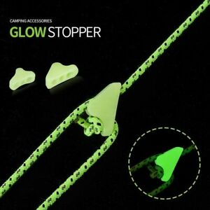 Hook Outdoor Tent Accessories Fluorescence Ropes Stopper Wind Rope Buckle