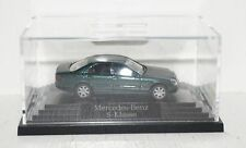 Wiking Mercedes-Benz S-Klasse W220 grünmetallic 1:87 in PC + OVP (R2_4_13)