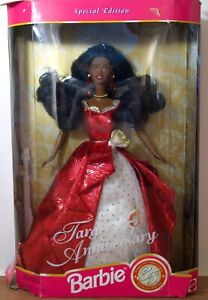 1997 Brand New Target 35th Anniversary Barbie Special Edition Mattel Damaged Box