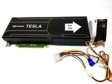 GPU Cooler with High-speed Fan forNvidia Tesla K10 GRID K2 Passive Cooling