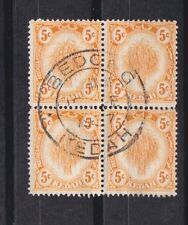kedah block of four,SG 55 used        c1022