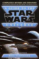 A GUIDE TO THE STAR WARS UNIVERSE_3RD ED_BRAND-NEW 2000 PB_BILL SLAVICSEK_MINT