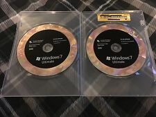 Microsoft Windows 7 Ultimate 32/64 Full Version (Both DVD's & Product Key)