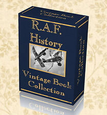 96 Vintage Books RAF History WW1 Royal Air Foce RFC Flying Corps War Military241