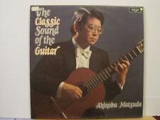 Akinobu MATSUDA-classico SUONO DELLA CHITARRA-VINILE LP-GRATIS UK POST