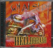 W.A.S.P. ‎– Helldorado   Cd  with hologram card