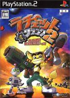 Ratchet & Clank 2 Gagaga! Hey Commando of galaxy PS2 Sony PlayStation 2 Japan