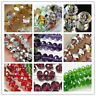 Rondelle Faceted Crystal Glass Loose Spacer Beads Wholesale 4mm/6mm/8mm/10mm
