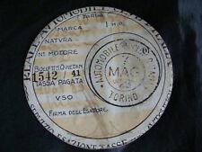 BOLLO 1928 REALE AUTOMOBILE CLUB ORIGINALE DELLA FERREA MOTO GUZZI FRERA GILERA
