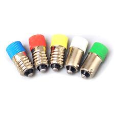E10 B9 LED Bombilla instrumento advertir 0.5W 6.3/12/24/36/220/380V Tornillo/Bayoneta