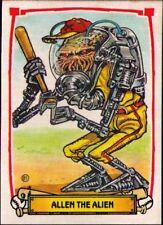 1988 Leaf Baseball's Greatest Grossouts #81 Allen The Alien