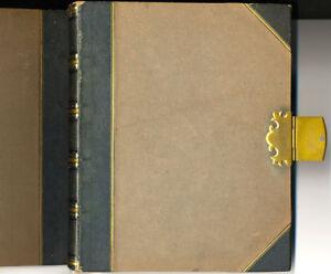 English family album with 58 original albumen photos from 1860 to 1900 London
