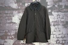 Barbour Quilted Navy Jacket size XS No.S10 15/1