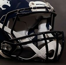 DENVER BRONCOS Riddell Speed S2BD Football Helmet Facemask/Faceguard (NAVY BLUE)