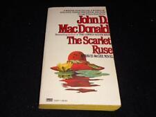 "Gold Medal 13247 $3.95 cover John D MacDonald THE SCARLET RUSE"" McGinnis"